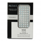 Mini Bluetooth Keyboard for Android/WinCE/Nokia Symbian S60 Cellphones (Silver)