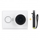 Xiaomi Xiaoyi 1080P 16MP CMOS Sports Camera w/ Monopod / Wi-Fi / Bluetooth 4.0 - White (Travel Kit)