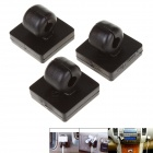 Stylish Wire Cord Cable Clip Clamp Organizer - Black (3 PCS)