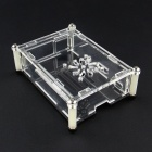 New Acrylic Case Shell with Fan Hole for Raspberry Pi 2 B & B+