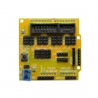 Sensor Shield V5.0 Expansion Board for Arduino - Yellow
