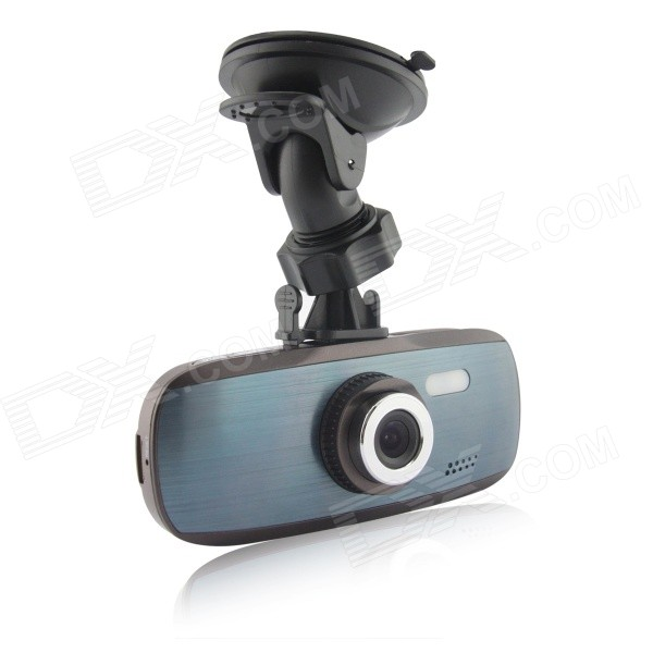 2.7 TFT 1080P 5.0MP 120° Wide-Angle Car DVR w/ C10 8GB - Blue GreyCar DVRs<br>Form  ColorBlue GreyModelN/AQuantity1 DX.PCM.Model.AttributeModel.UnitMaterialABSChipsetOthers,N/ACamera Lens1Image SensorCMOSImage Sensor Size1/2.7 inchesCamera Pixel5.0MPExternal Camera PixelNoWide Angle120°Optical Zoom5XScreen Resolution1080PScreen TypeTFTScreen Size2.7 inchesISONoExposure Compensation-2;-1.7;-1.3;-1;-0.7;-0.3;0;+0.3;+0.7;+1;+1.3;+1.7;+2.0Anti-ShakeYesWhite Balance ModeAutoVideo FormatAVIDecode FormatH.264Video OutputNTSCVideo Resolution720P(1280 x 720),VGA(640 x 480),WVGA(848 x 480),1080P(1440 x 1080)Video Frame Rate30ImagesJPGStill Image Resolution12M 4032x3024,5M 2592x1944,3M 2048x1536Audio SystemMonophonyMicrophoneYesMotion DetectionYesAuto-Power OnYesLED QtyNoneIR Night VisionNoG-sensorYesLoop RecordOthers,2/3/5Delay ShutdownYesTime StampYesBuilt-in Memory / RAM8GBMax. Capacity32GBStorage ExpansionTFAV InterfaceAV-outData interfaceMini USBWorking Voltage   5 DX.PCM.Model.AttributeModel.UnitBattery Capacity300 DX.PCM.Model.AttributeModel.UnitWorking Time0.1 DX.PCM.Model.AttributeModel.UnitMenu LanguageEnglish,French,German,Italian,Spanish,Russian,Japanese,Korean,Chinese Simplified,Chinese TraditionalScreen Size2-2.9Other FeaturesMicrophoneScreen Resolution:1920 x 1080 DX.PCM.Model.AttributeModel.UnitCamera Pixel5-7.9MP DX.PCM.Model.AttributeModel.UnitWide Angle120°-149° DX.PCM.Model.AttributeModel.UnitPacking List1 x Car DVR (5V input)1 x USB cable (0.8m / 5V)1 x Cigarette lighter charging cable (3m / 12V to 5V)1 x Chinese / English manual1 x Sucker<br>