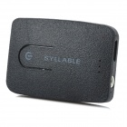 Syllable E3 Multi-Functional Bluetooth V4.0 Audio Music Transmitter / Adapter w/ 3.5mm Jack - Black