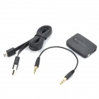 Syllable E3 Bluetooth Audio Music Transmitter Adapter w/ 3.5mm - Black