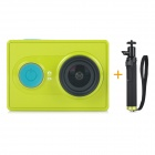 Xiaomi Xiaoyi 1080P 16MP CMOS Sports Camera w/ Monopod / Wi-Fi / Bluetooth V4.0 - Green (Travel Kit)