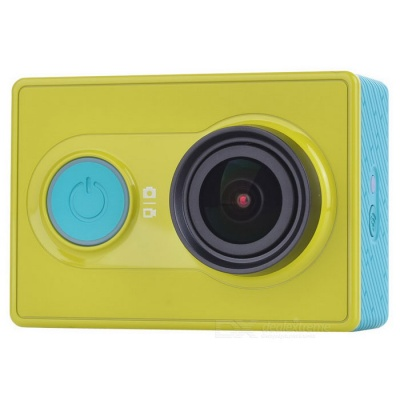 Xiaomi Xiaoyi 1080P 16MP Sports Camera Camcorder w/ Wi-Fi, BT - Green