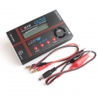 "C610 120W  2.6"" LCD PRO RC Li-po / Li-ion / LiFe Battery Balance Charger / Discharger - Black + Red"