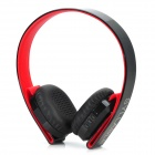Syllable G600 Bass Bluetooth Headphone w / Mic, Alto-falante - Preto + Vermelho