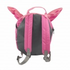 Large Cartoon Butterfly Kid's Double-Shoulder Bag Backpack - Pink