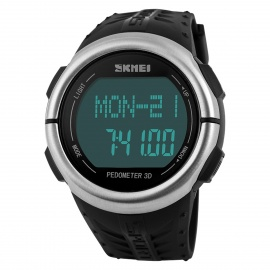 SKMEI Waterproof Pedometer / Heart Rate Test Wrist Watch