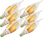 YouOKLight E14 3W 16-SMD 2835 White Lamp (85~265V / 6PCS)