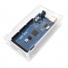 MEGA2560 R3 Development Board + Acrylic Case Shell Set for Arduino - Transparent + Blue