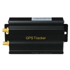 TK103C Anti-Theft Car Vehicle GPS Tracker Tracking System - Black