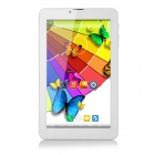 "7"" IPS Android 4.4 Dual-Core Tablet PC w/ 1GB RAM, 8GB ROM, Wi-Fi, Bluetooth - White (US Plug)"