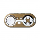 Wireless Bluetooth V3.0 Game Controller Gamepad Joystick for IOS / Android / Smart Phone - Golden
