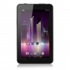 "7"" IPS Android 4.4 Quad-Core Tablet PC w/ 1GB RAM, 8GB ROM, Wi-Fi, Bluetooth - Black (US Plug)"