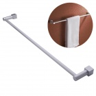 NEJE Aluminum Wall-Mounted Bathroom Accessories Towel Holder - Silver