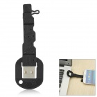 Novel Key Style Universal USB Male to Micro USB Male Data Sync & Charging Cable - Black