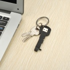 Novel Key Style USB Male to Micro USB Male Data Charging Cable - Black