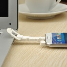 Novel Key Style Universal USB Male to Micro USB Male Data Sync & Charging Cable - White