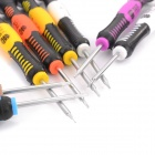 BST-2408 Multi-purpose Repairing Screwdriver Tool Set for Cellphone + More - Multicolored