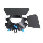 YELANGU Matte Box Lens Hood Sunshade for Video Camcorder, DSRL - Black