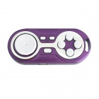 Wireless Bluetooth V3.0 Game Controller Gamepad Joystick for IOS / Android / Smart Phone - Purple