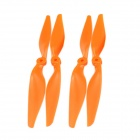 Nylon Prop Propeller Blade CW / CCW for Multicopter - Orange (2 Pairs)