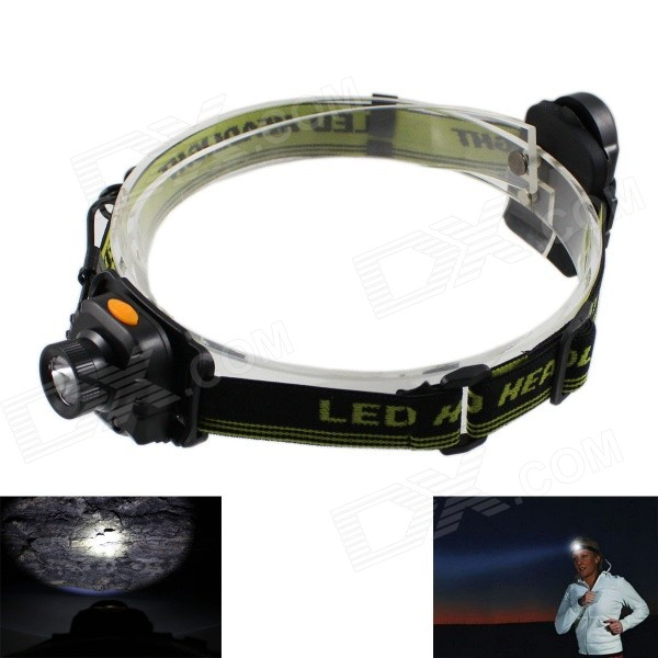 KINFIRE 701C XPE R3 180lm 1-Mode Cold White LED Headlight Headlamp