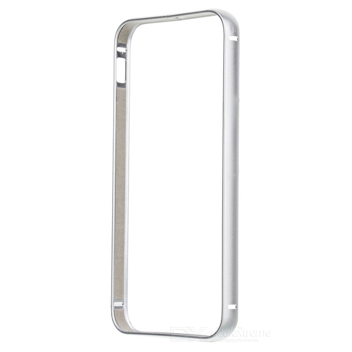Durable Aluminum Alloy Bumper Frame for IPHONE 5 / 5S - Silver