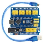 Mini-USB Nano 3.0 Atmega328P Development Board w/ USB Cable + Nano IO Extension Board for Arduino