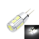 Marsing G4 5W LED Light Lamp White 6500K 380lm 10-SMD 5730 (DC 12V)
