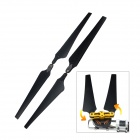 Nylon Foldable Propellers CW / CCW for Multicopter - Black (2 Pairs)