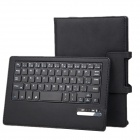 Detachable PU + ABS Bluetooth V3.0 59-Key Keyboard Case for Dell Venue 8 7840 - Black