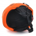 MOON MS-92 Cycling One-Piece PC + EPS Bike Helmet - Orange + Black (M)