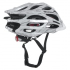 MOON MV27 Outdoor Cycling One-Piece PC + EPS Bike Helmet - White (L)