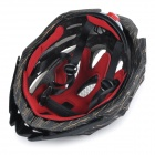 MOON MV27 Outdoor Cycling One-Piece PC + EPS Bike Helmet - Black + Yellow (M)