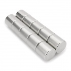 NdFeB N35 Round Magnets - Silver (12*12 mm / 10PCS)