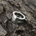 N35 19*5*14mm Ring Style NdFeB Magnet - Silver (2PCS)
