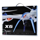 JJRC H16-1 Shockproof 6-Axis UFO Quadcopter w/ Gyro - White + Black