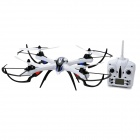 JJRC H16-1 Shockproof 2.4GHz 4-CH 6-Axis UFO Quadcopter w/ Gyro - White + Black
