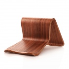 SAMDI 2638C Wooden Tablet / PC Desktop Holder Stand - Brown