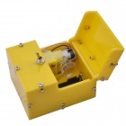 NEJE Mini Useless Fully Assembled Machine Box Toy - Yellow (2 * AAA)