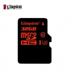 Kingston UHS-I U3 TF / MicroSD Memory Card - Black + Red (Class 10 / 32GB)
