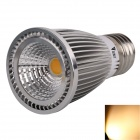 WaLangTing E27 7W LED Spotlight Warm White Light 3500K 550lm COB - Silver (AC 110~240V)