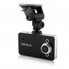 "D&Z K6000 2.7"" TFT CMOS 120-degree Wide Angle HD Car DVR Camcorder w/ 5.0MP Camera - Black"