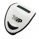 "TWP 197 Sports 0.9"" LCD Clip-on Pedometer - Black + White (1 x AG10)"
