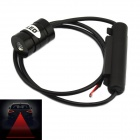 exLED 3W Car Red Laser Light 700nm Fog Lamp / Warning Light - Black (12~24V)