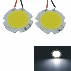 Carking T10 / BA9S / Festoon 2W LED Car Interior Dome Roof Light White 6000K 560lm COB (2pcs)
