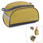 NatureHike Outdoor Travel Ultra Light Toiletries Makeup Wash Storage Organizer Bag - Golden Yellow